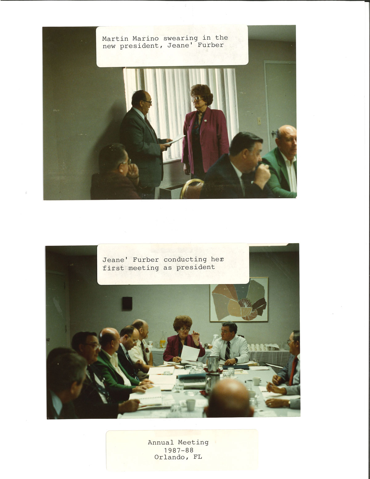 Annual-meeting-1987-1988-Jeane-Furber-